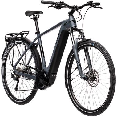 Vélo de Voyage Électrique CUBE TOURING HYBRID ONE 500 Gris 2021